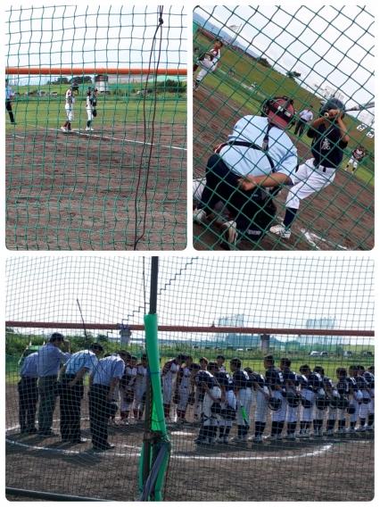 9月23日  練習試合 vs 鈴鹿リトルリーグ