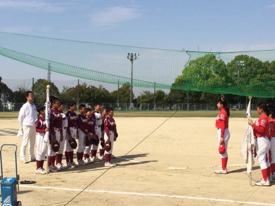 練習試合  VS  瀬戸L.L